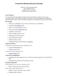 resume objective examples resume career objective examples resume objective examples bank resume s banking lewesmr sample resume investment banking analyst sle