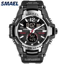 SMAEL Mens Sport Watches <b>Fashion Sport LED Digital</b> Watch Men ...