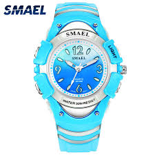 Girls Outdoor <b>SMAEL</b> LCD <b>Digital Watches</b> Shock Resistant Sport ...