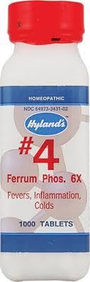 Hyland's No.<b>4 Ferrum Phos</b>. <b>6X</b> Tablets, 1000 Ct - Walmart.com ...