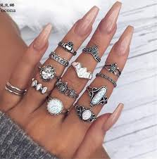 Best Price High quality 12pcs <b>finger</b> rings brands and get <b>free shipping</b>