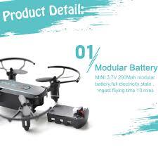Linxtech IN1601 480P 720P <b>Mini</b> RC <b>Drone</b> with Camera <b>Wifi FPV</b> ...
