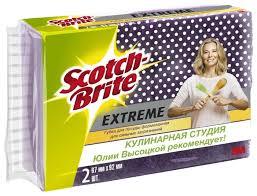 Купить <b>Набор</b> формованных <b>губок для посуды</b> Scotch-Brite ...