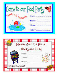 pool party invites templates party invitations templates pool party invites wording