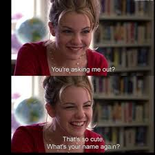 Larisa Oleynik) Bianca: You're asking me out? That's so cute ... via Relatably.com