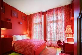 red wall bedroom ideas