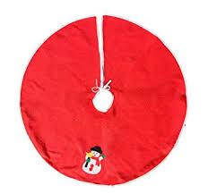 COMVIP Non-woven Christmas Tree Skirt New Year ... - Amazon.com