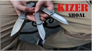 Обзор На <b>Складной Нож KIZER</b> SHOAL - YouTube