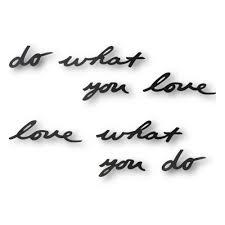 <b>Надпись декоративная</b> Umbra <b>Do what</b> you love настенная, черная