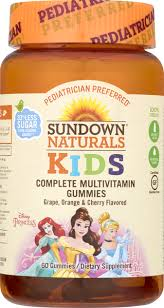 Sundown Naturals Kids <b>Complete Multivitamin Gummies Disney</b> ...