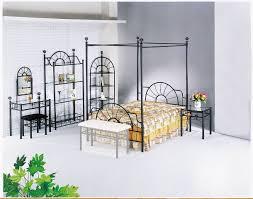 pc canopy bedroom set de   f set