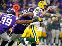 NFL Week 2 game picks: Rams down Saints; Packers top Vikings ...