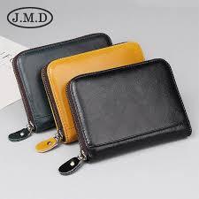 <b>JMD Vintage</b> Men Genuine Cowhide <b>Leather</b> Wallet Purse With ...