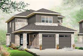 Narrow lot house plan   nursery   Drummond PlansNarrow lot house plan   bedrooms