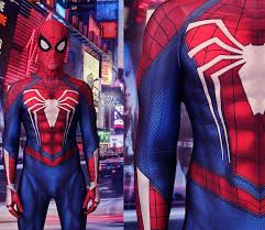 New <b>Ps4 Insomniac Spiderman Costume</b> Spandex Cosplay ...