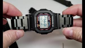 How to replace strap band on Casio GShock Watch GWM5610 ...