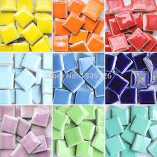 glass tile mosaic diy diy colorful mosaic tiles pieces wall craft aquarium decoration natura