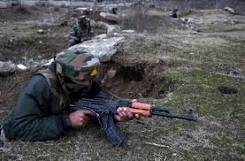 fighting resumes in kashmir s pampore town daily world srinagar feb 22 security forces and separatists fired at each other on monday in jammu and kashmir s pampore town where a group of armed militants has