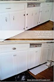 trim for kitchen cabinets  ideas about cabinet door makeover on pinterest door makeover cabinet