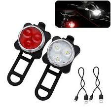 Bicycle Accessories Cycling <b>USB</b> Rechargeable LED <b>Bike Lights</b> ...