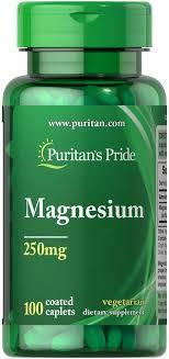 <b>Магний</b>, Magnesium, Puritan's Pride, <b>250 мг</b>, <b>100</b> капсул - в онлайн ...