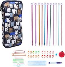 Teamoy Aluminum Tunisian Crochet Hooks Set ... - Amazon.com