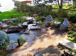 diy patio pond: ideas best natural stone patio designs ideas stone patio home