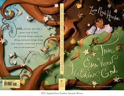 """their eyes were watching god book cover with janie in the pear    """"there are years that ask questions and years that answer """" ― zora neale hurston  their eyes were watching god     beautiful book cover from lady grey"""
