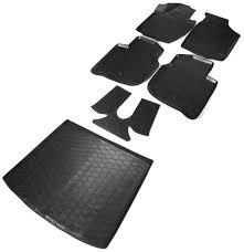 <b>Комплект ковриков салона и</b> багажника Rival для Skoda Rapid ...