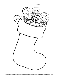 christmas stocking template clip art decorations christmas stocking template