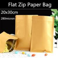 Flat Zip <b>Bag</b>