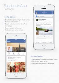 facebook mobile app redesign martin jarcik facebook big