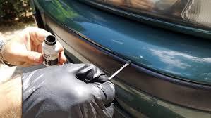 Как вернуть цвет <b>пластика</b> на бамперах и удалить царапины
