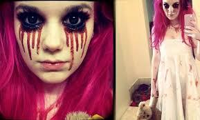 نتيجة بحث الصور عن halloween makeup tumblr