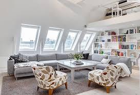 chic attic living room image source niji home design beautiful home office design ideas attic