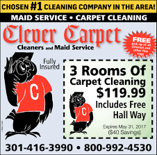 clever carpet chosen 1 cleaning company in the area shopping clever carpet home improvements ads from herald mail media