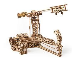 Купить 3D-пазл <b>UGears Авиатор</b> (<b>Aviator</b>) недорого в интернет ...
