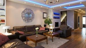 living room lighting ideas pictures. living room with blue inceiling lighting and small recessed lights ideas pictures n