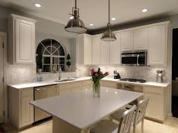kitchen linear dazzling lights clear ceiling recessed: pendants and recessed lighting we also added under cabinet lights