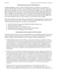 general psychology term paper ideas