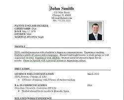 Job resume, Resume and Teaching overseas on Pinterest