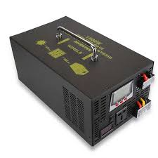 <b>1500W</b> Pure Sine Wave Hybrid Inverter 24V to <b>220V DC</b> to DC/AC ...