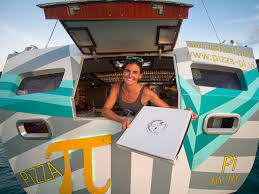 a couple quit their jobs to open a floating pizzeria in the a couple quit their jobs to open a floating pizzeria in the caribbean insider