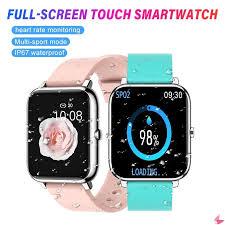 <b>P22 Full Touch</b> Smart Watch Band Blood Oxygen Monitoring Watch ...
