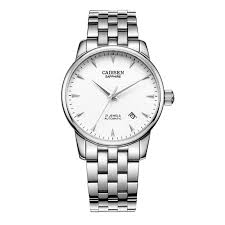 CADISEN <b>Watch Men</b> mechanical-<b>Watch</b> Luxury Brand <b>Full Steel</b> ...