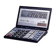 LLDDP Mini Folding flip Cover Voice Calculator Multi ... - Amazon.com