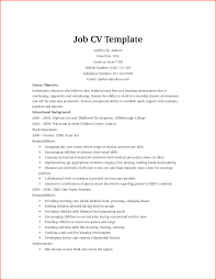cv template first job event planning template templates easyjob cv for job canadianbioceutical com