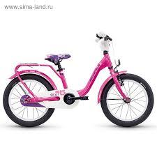 """<b>Велосипед</b> 16"""" <b>SCOOL niXe</b>, 2018, alloy, цвет розовый (3877850 ..."""