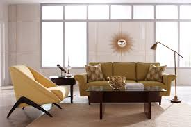affordable furniture ideas of modern living room with light brown fabric couch and unique cream fabric affordable apartment furniture