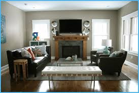 image of narrow living room with fireplace arrangement furniture ideas small living